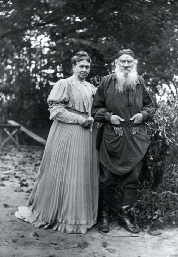 tolstoy-and-wife
